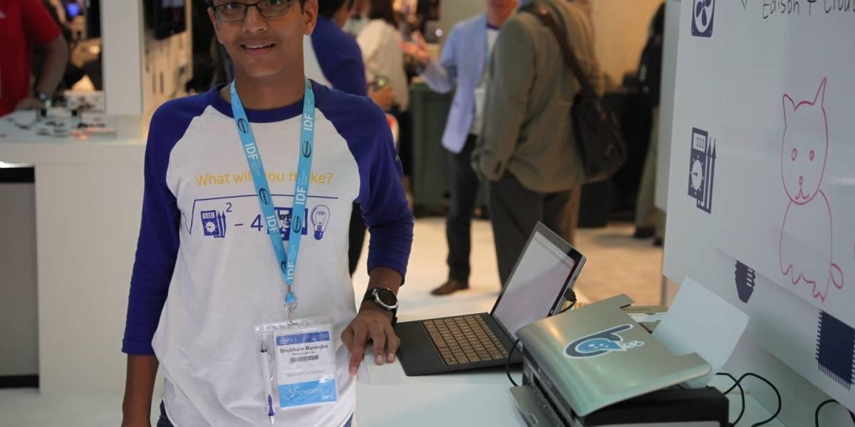 La startup de un joven de 13 años entre las seleccionadas por Intel Capital
