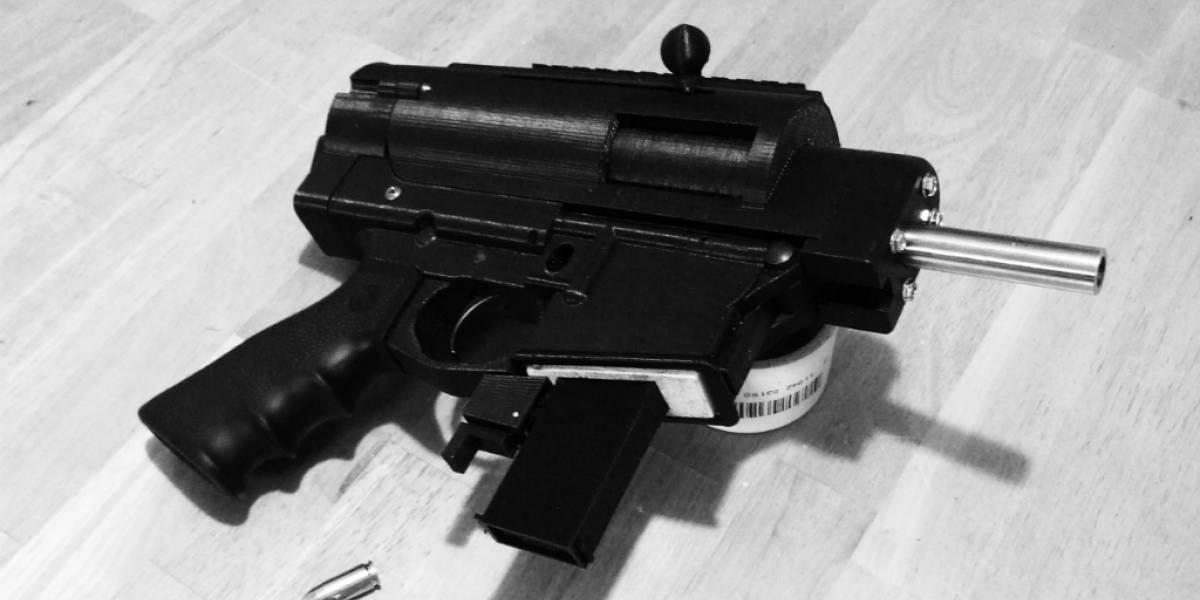 Nueva impresión en 3D: Una pistola semi-automática