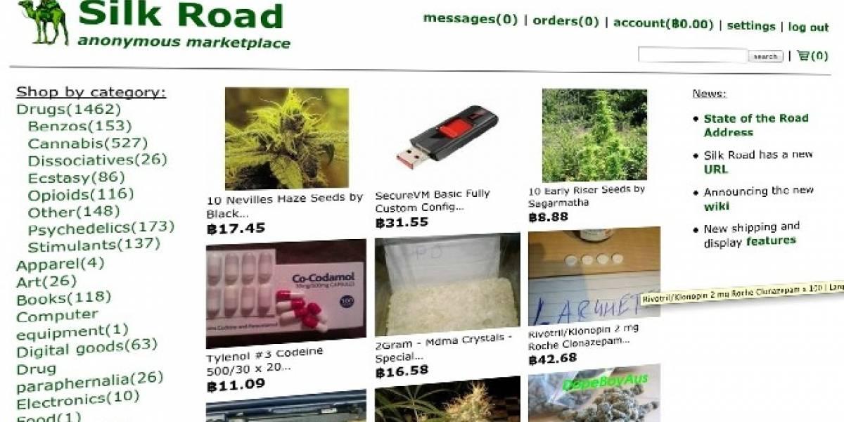 Sitio de venta de drogas Silk Road dice no estar afectado por las fuertes variaciones del bitcoin
