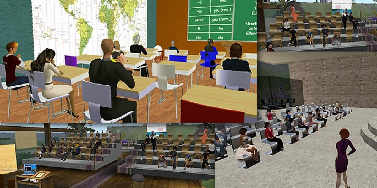 Europa: SimAula, un proyecto 3D donde los profesores practican con alumnos virtuales