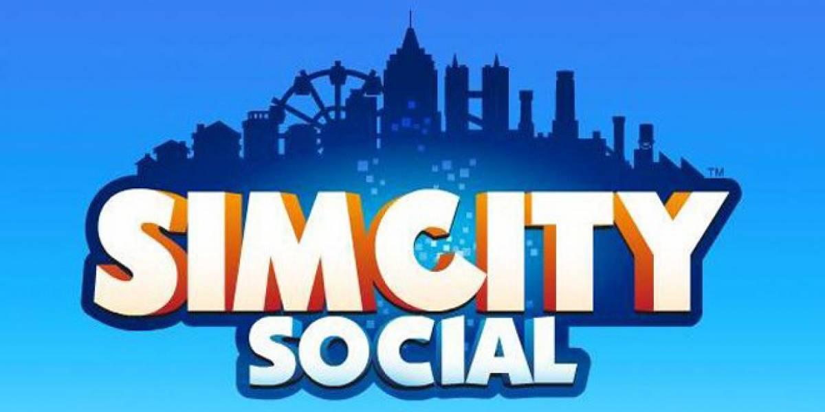 SimCity muy pronto en Facebook