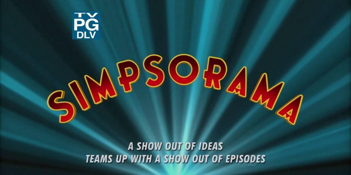 Futurama y The Simpsons en un crossover mítico