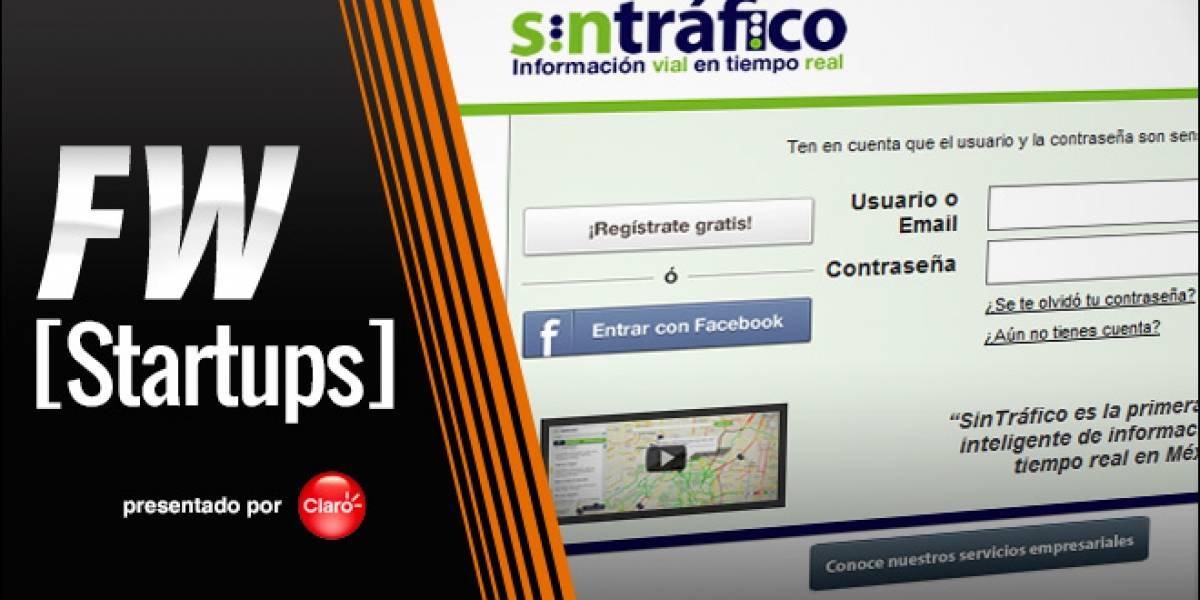 SinTráfico, información en tiempo real para el conductor de la ciudad de México, [FW Startups]