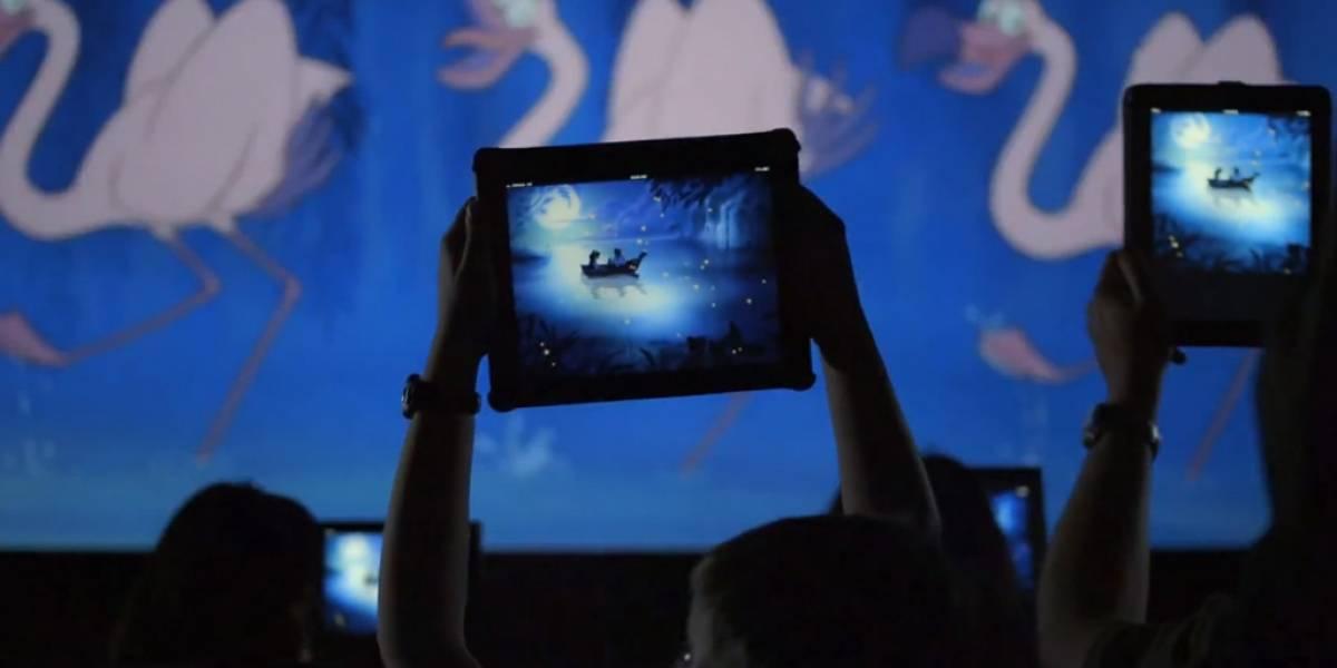 Disney pide a la gente que lleve su iPad al cine