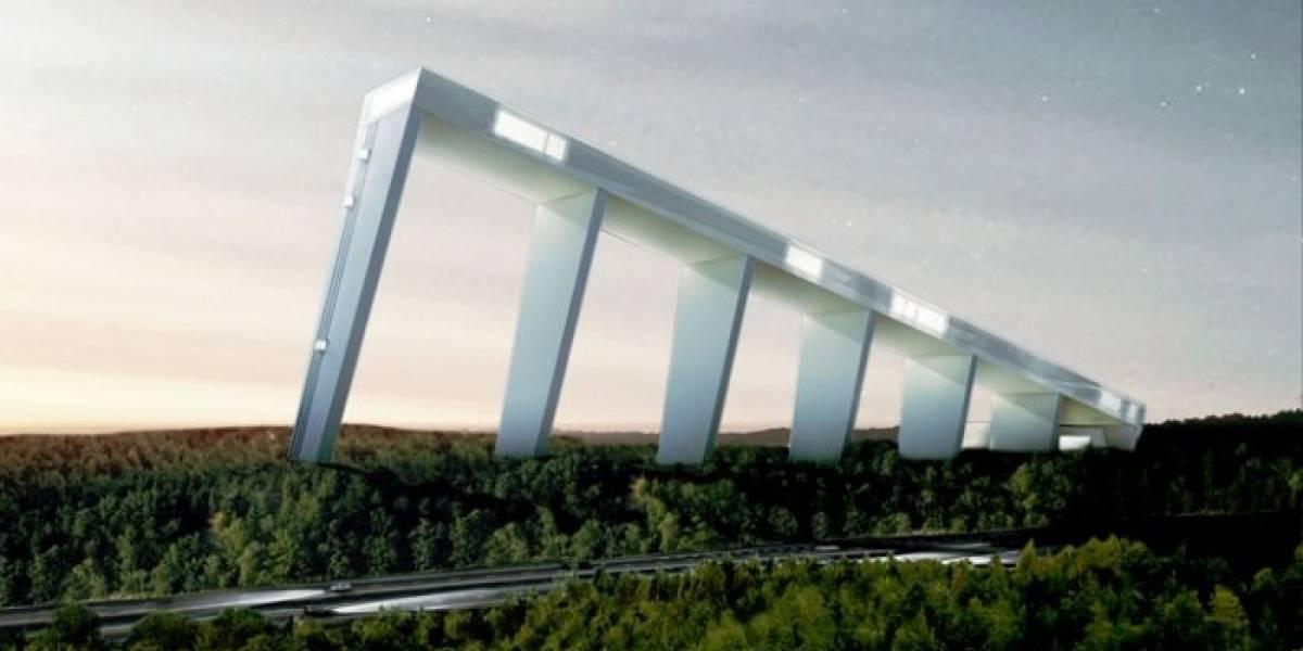 Nuevo parque de esquí indoor sueco será tan grande que podrá albergar mundiales