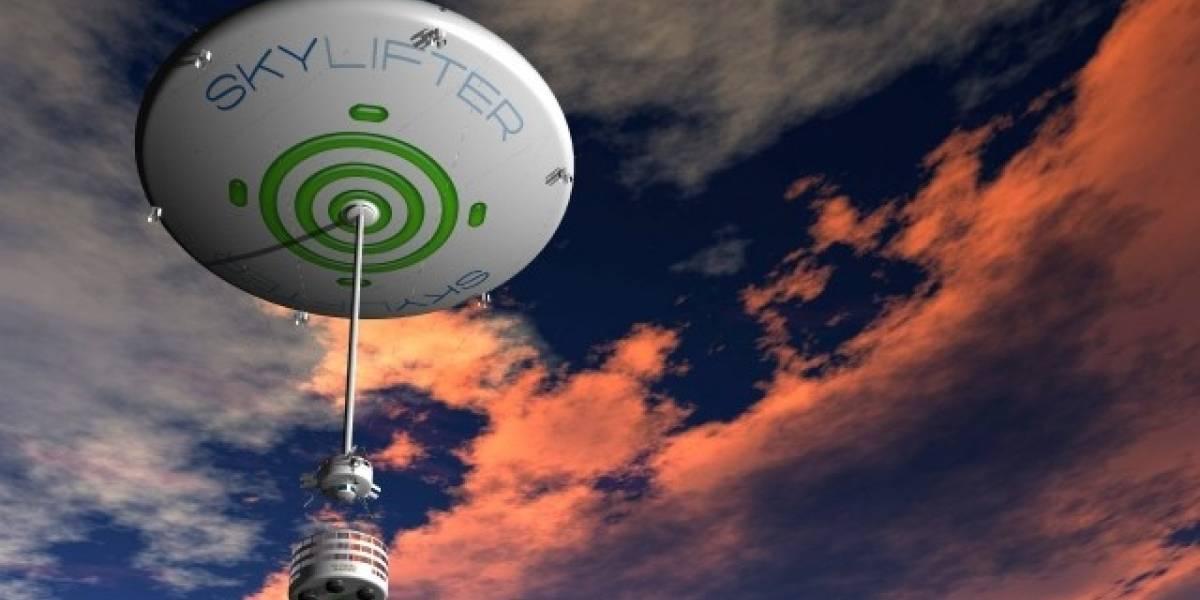 Skylifter, un globo para llevar carga pesada