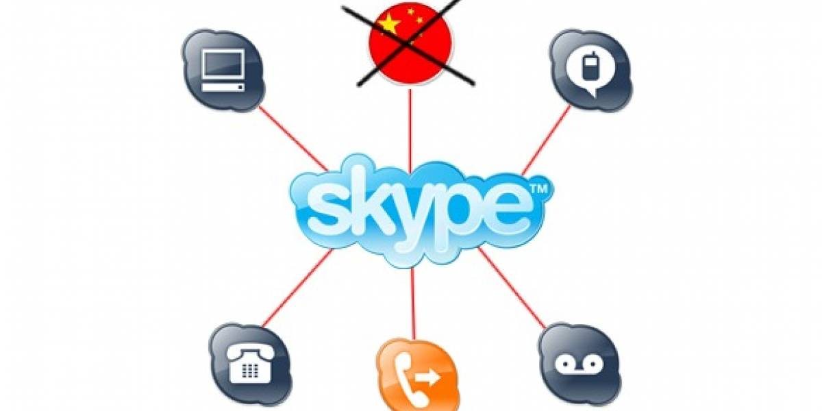 China declara ilegal a Skype