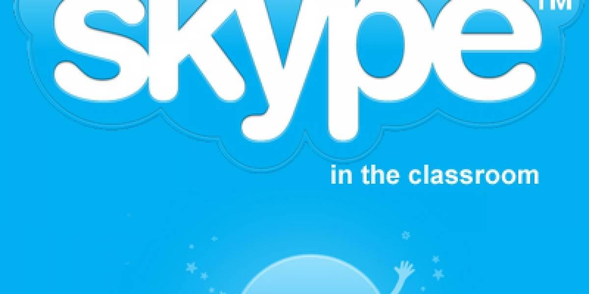 Skype lanzó una red social de profesores