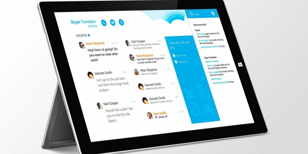 Skype integrará su traductor de idiomas en tiempo real en la versión para Windows