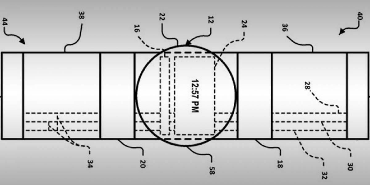 Google patenta su posible reloj inteligente con correa táctil