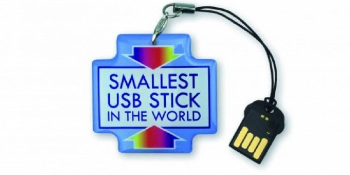 Una memoria USB tan pequeña que te olvidarás de que la tienes conectada