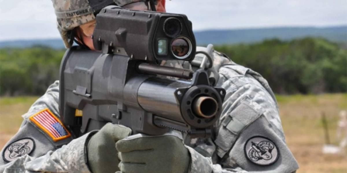 XM25 AIRBURST: Una nueva arma hace su debut en Afganistán