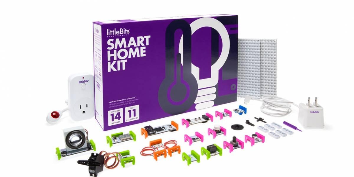 Este kit de littleBits convierte tu casa en un hogar inteligente