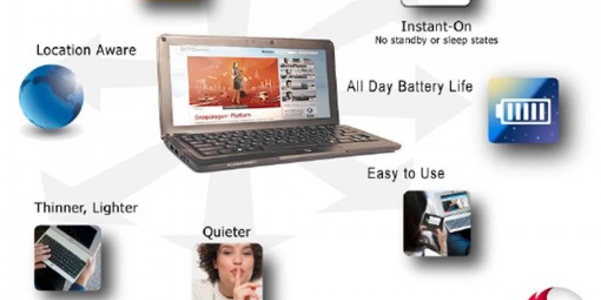 Smartbooks: Qualcomm quiere un paso intermedio entre smartphones y netbooks