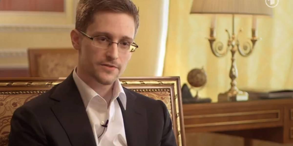 Video de la más reciente entrevista a Edward Snowden en Rusia