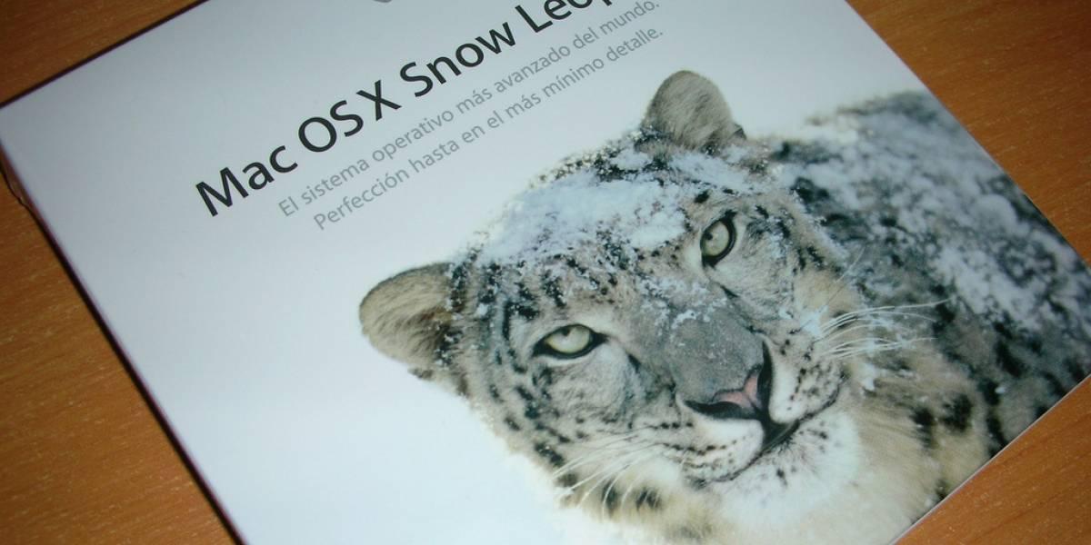 Apple no actualiza a usuarios de Snow Leopard