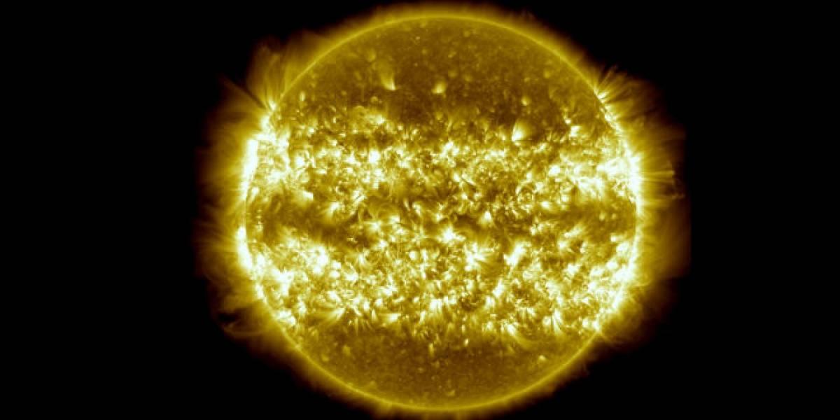 Imperdible: Tres años de actividad solar en tres minutos