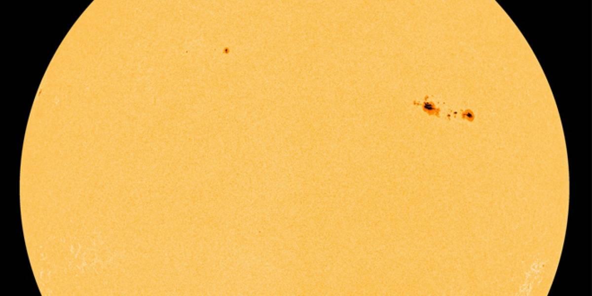 Nueva mancha solar de 150.000km es doce veces más grande que la Tierra