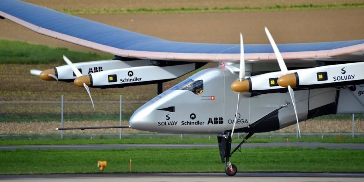 El avión Solar Impulse 2 batió su propia marca de vuelo