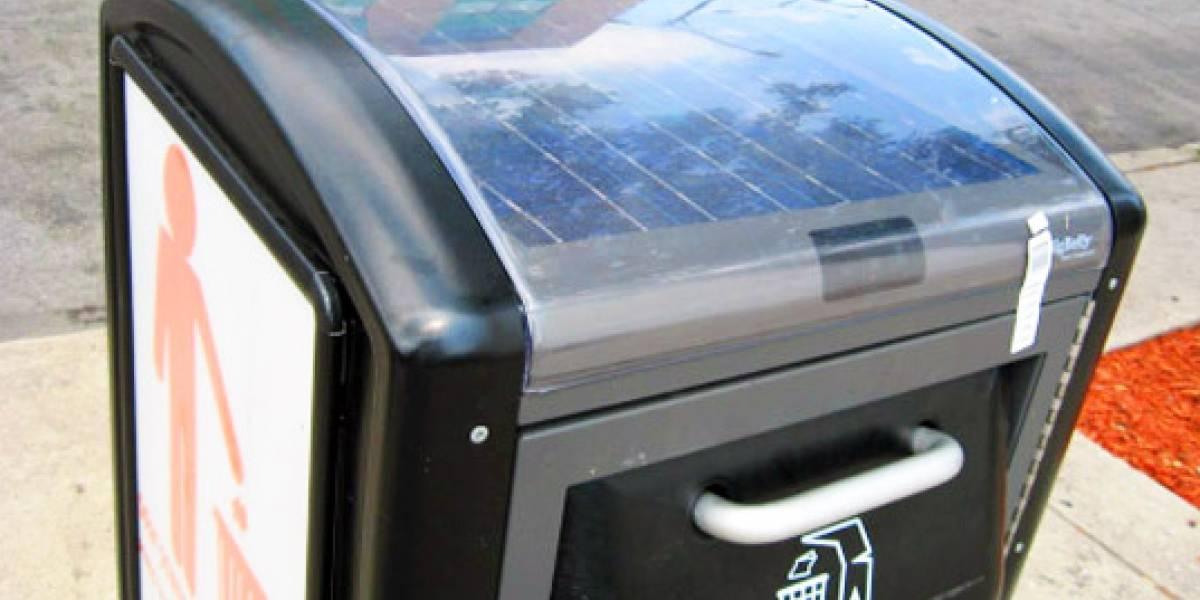 BigBelly: Nuevos contenedores de basura solares