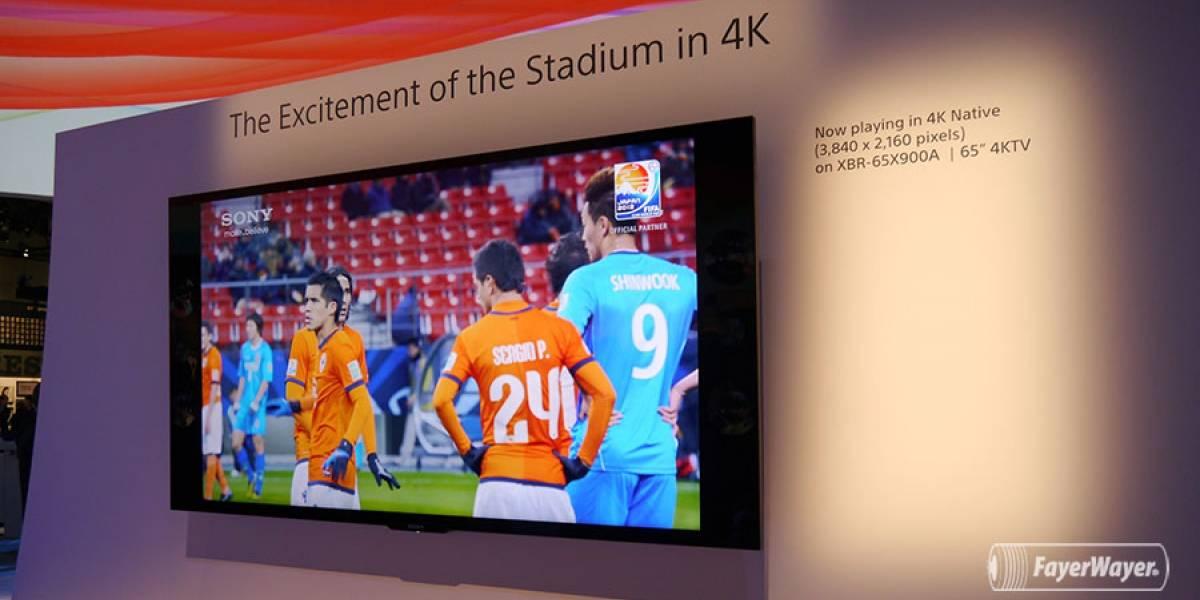 Sony intenta impulsar el 4K con televisores más accesibles y contenido