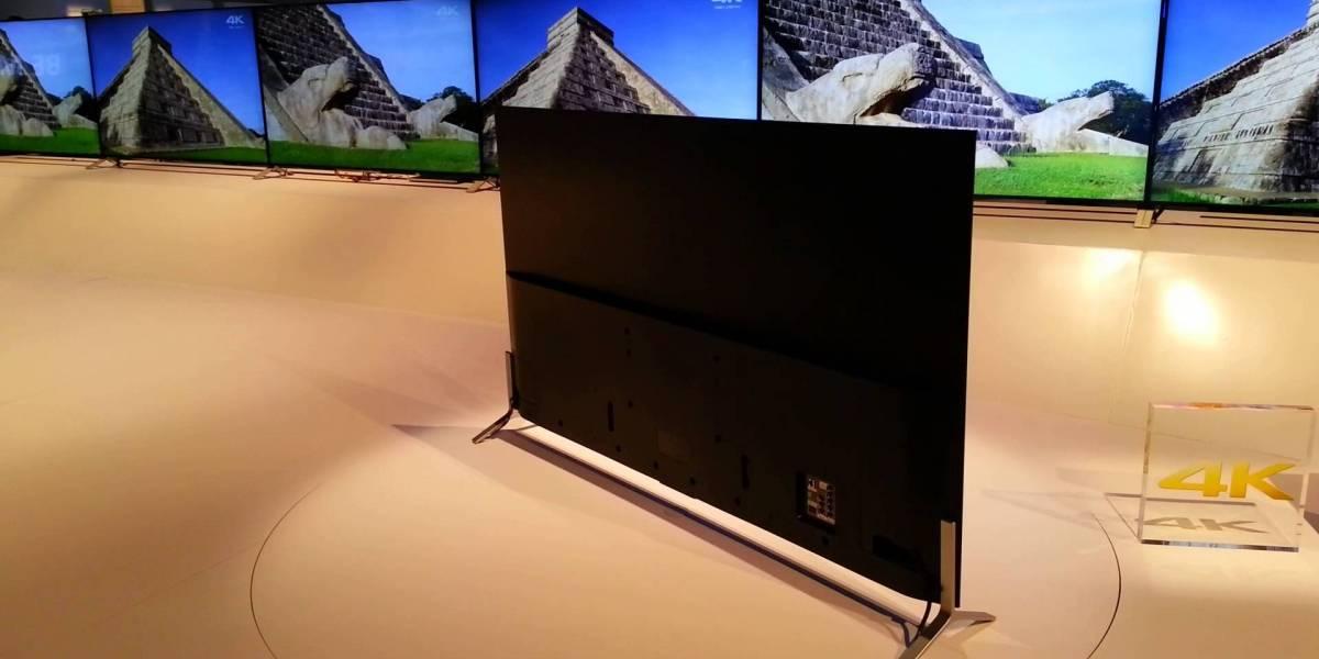 Sony prepara televisor 4K más delgado que un iPhone