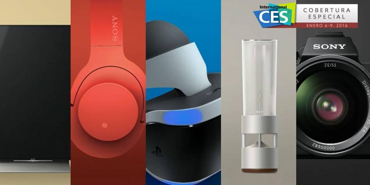 Sony apuesta por la resolución 4K con sus nuevos productos #CES2016