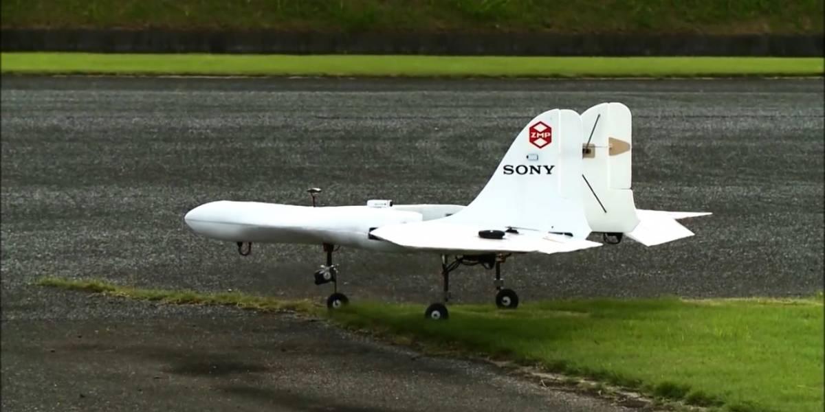 Sony presenta el prototipo de su primer dron
