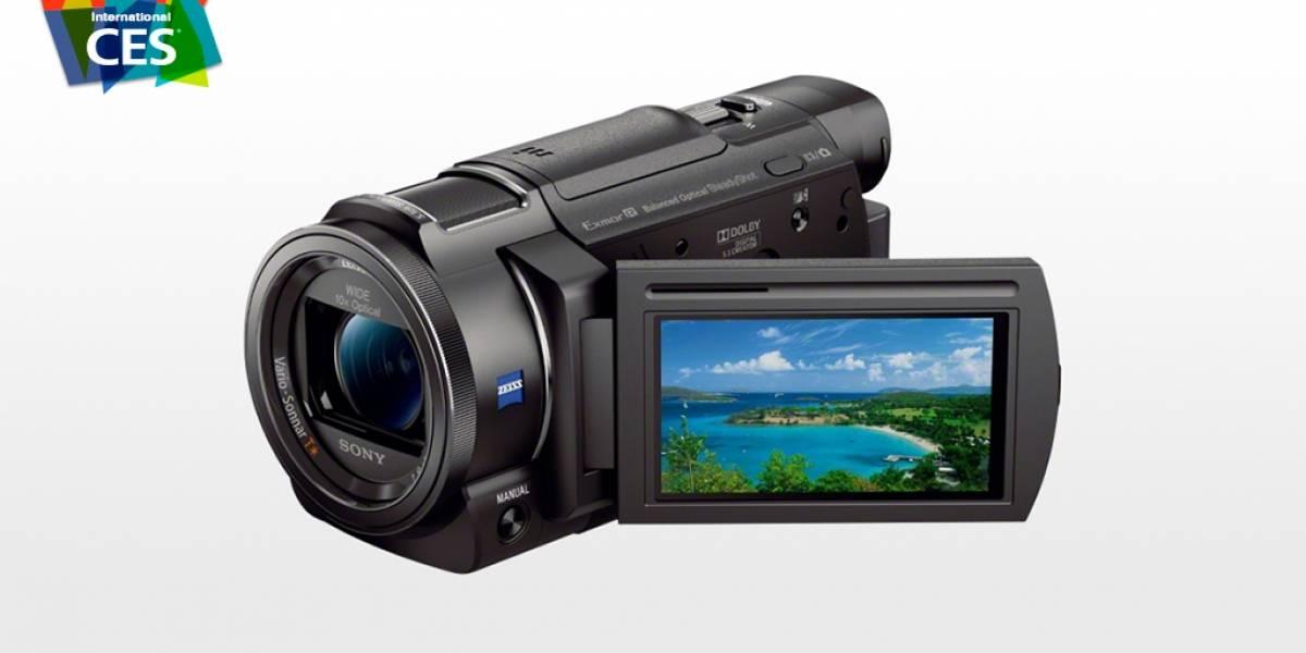 Action Cam y Handycam de Sony ya pueden grabar en 4K #CES2015