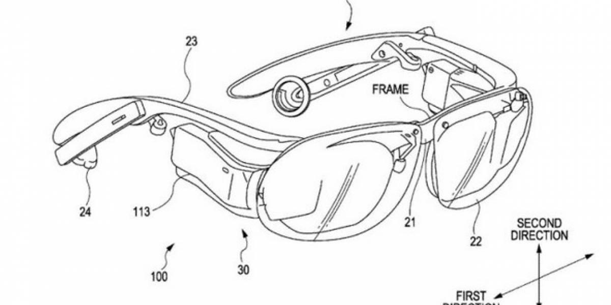 Patente de Sony revela nuevos lentes que buscan competir con Google Glass