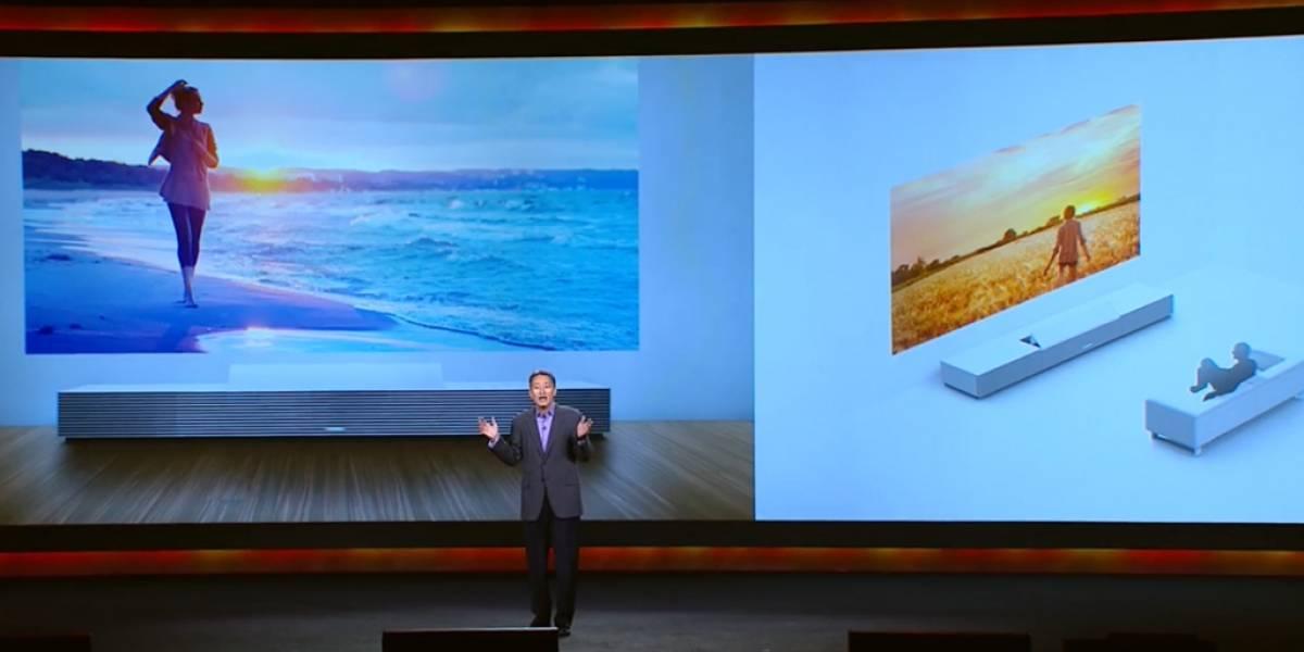 Sony presenta proyector que convierte muros en ventanas #CES2014