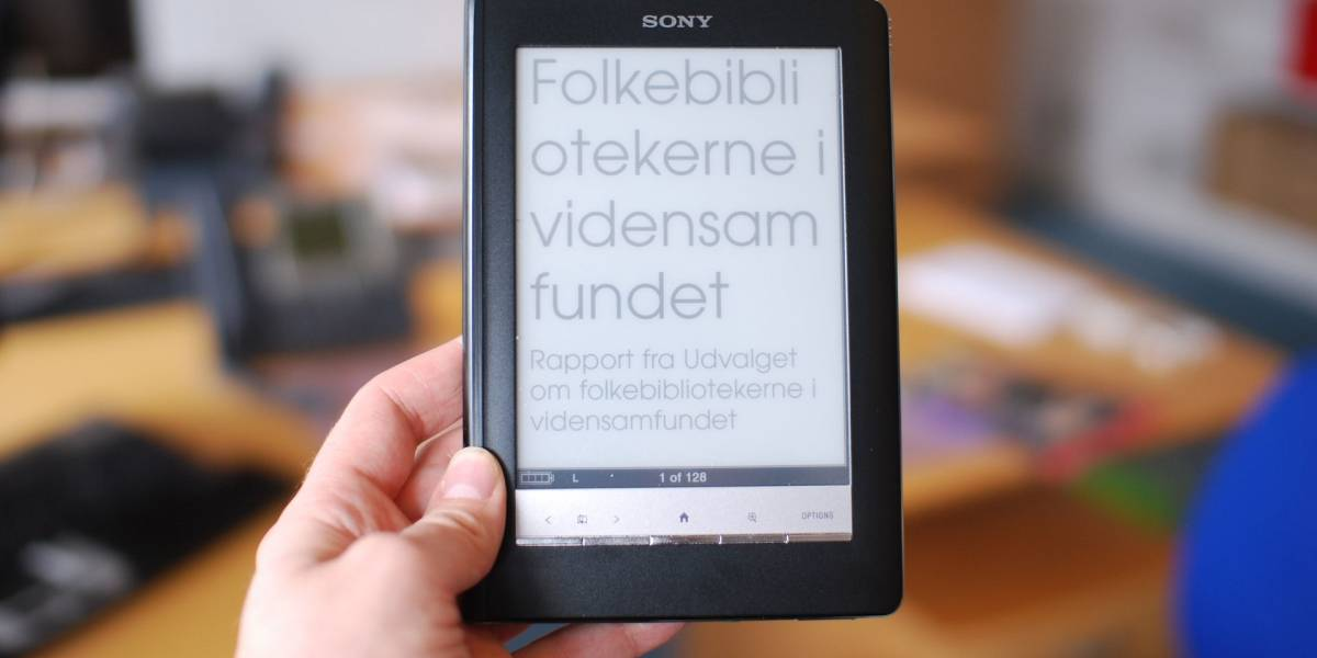 Sony dice adios al mercado de e-books