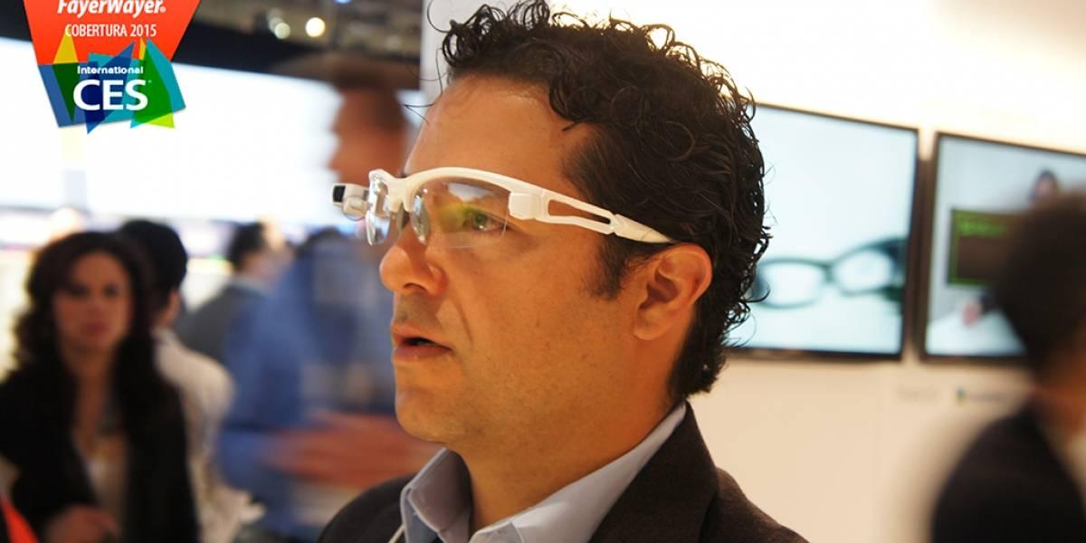 Sony SmartEyeglass Attach! a primera vista #CES2015