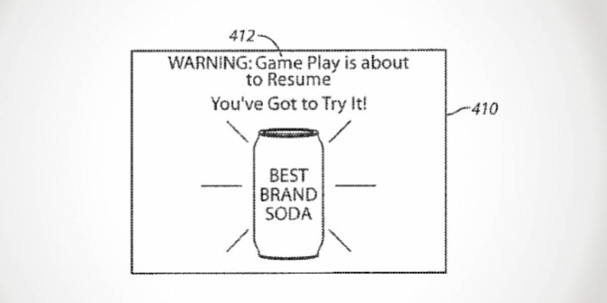 Sony patentó un sistema que interrumpiría una sesión de juegos para mostrar publicidad