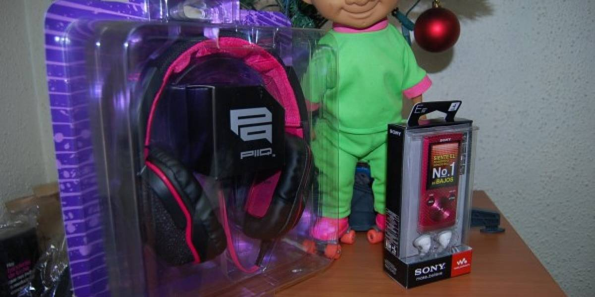 Ganador del concurso por audífonos y MP4 Sony (sólo Chile)