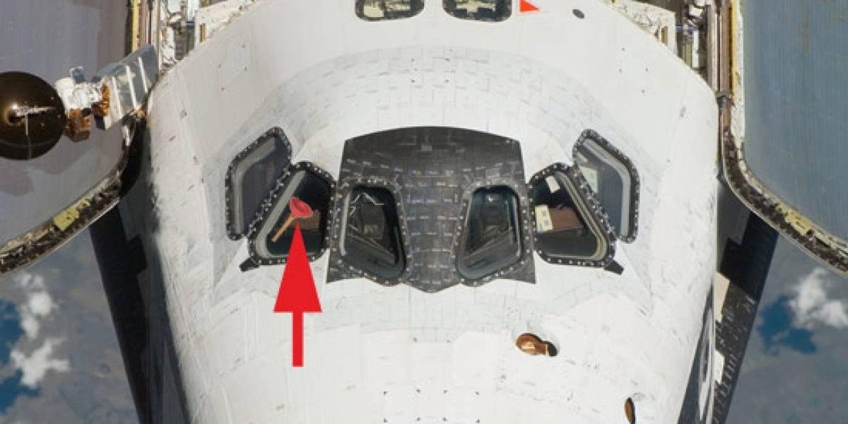 Transbordador Discovery parte al espacio... a reparar un baño
