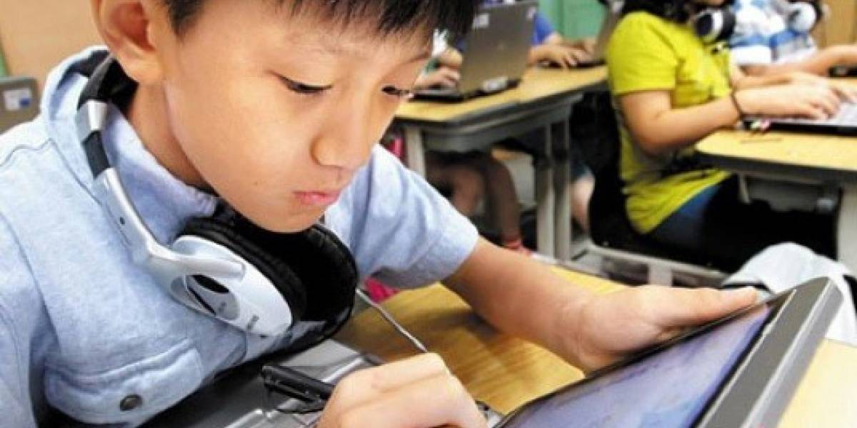 Corea del Sur usará tablets y smartphones en vez de libros escolares