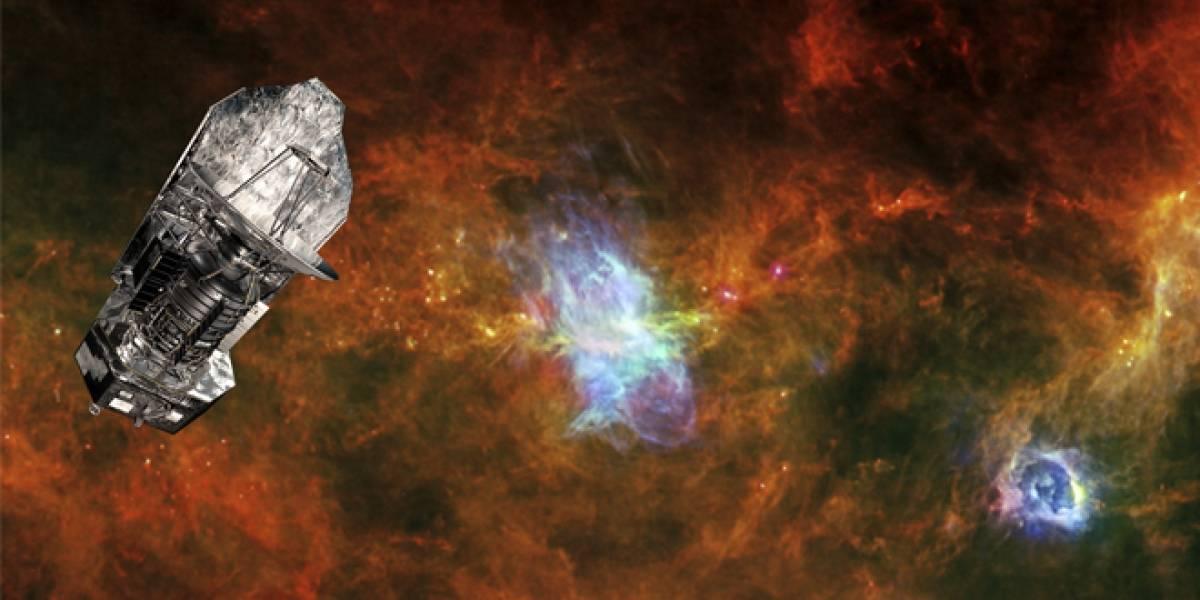 Deja de funcionar Herschel, el observatorio espacial infrarrojo más grande jamás lanzado