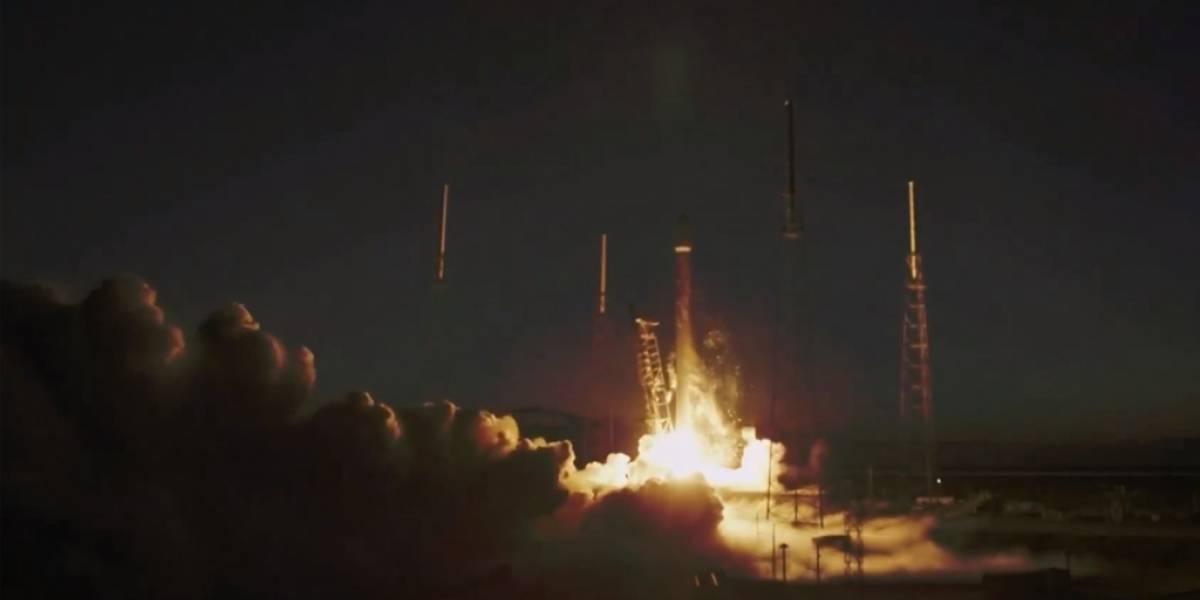 SpaceX lleva por primera vez un satélite al espacio