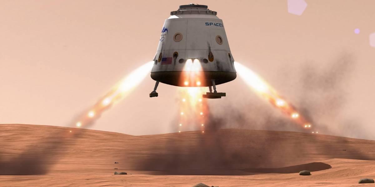 SpaceX y la NASA podrían traer muestras de Marte en 2022