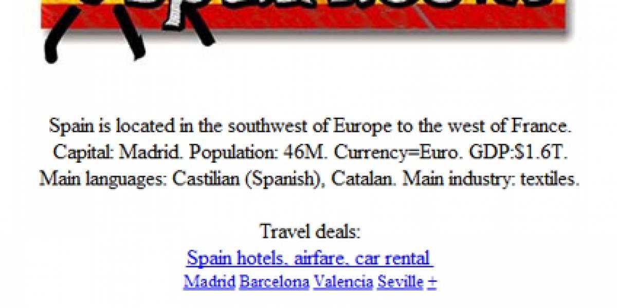 España sale a la venta... En Internet