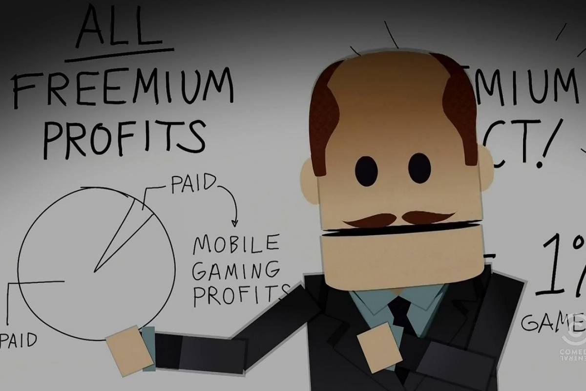 South Park explica el problema de los juegos freemium