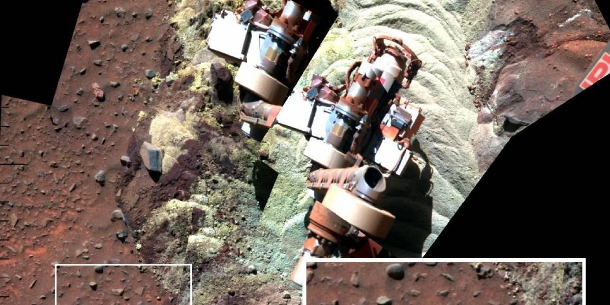 Rover Spirit encontró evidencia de agua líquida en Marte