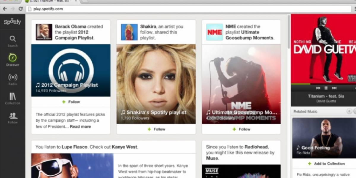 Spotify agrega nuevas funciones para descubrir canciones y seguir artistas