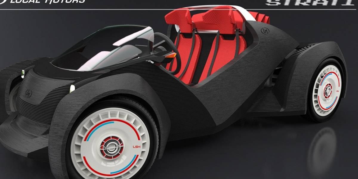 Empresa norteamericana intentará crear casi todo un automóvil con una impresora 3D