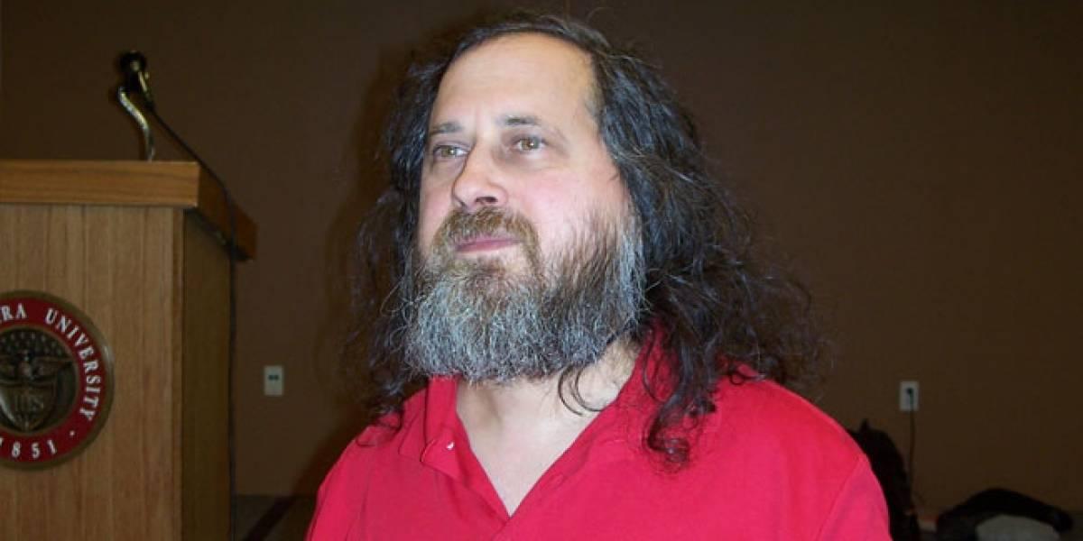 Stallman: 'Rajoy nos quiere matar a todos'