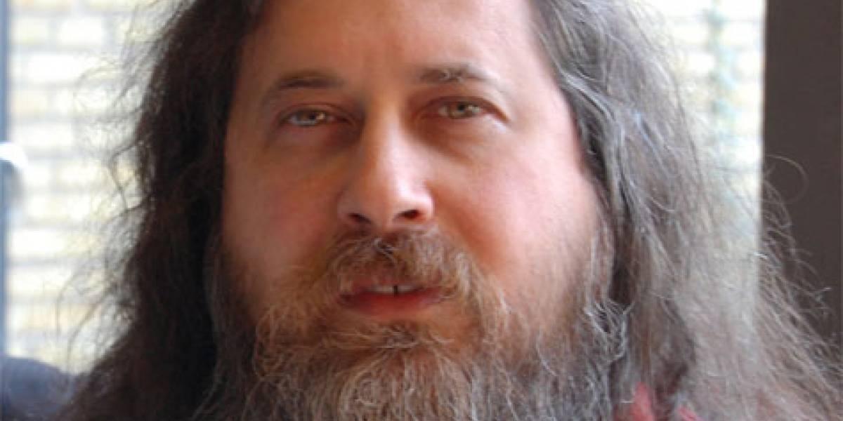 Richard Stallman apoya la causa de los estudiantes chilenos