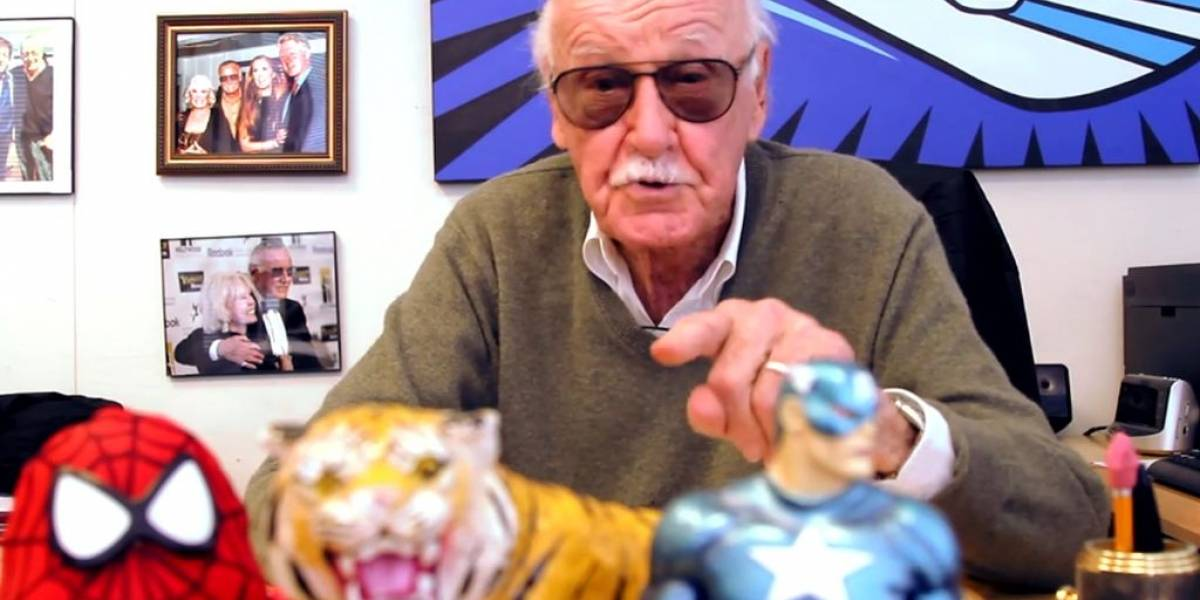 Stan Lee y YouTube se asocian para buscar a los siguientes grandes superhéroes
