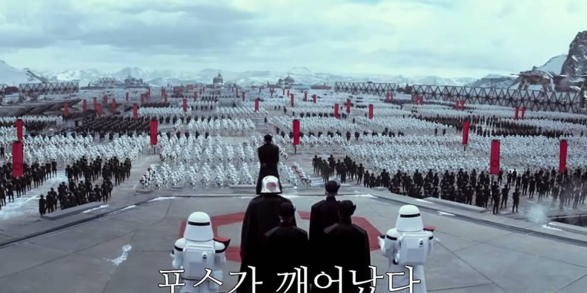 Este promo internacional de Star Wars: El Despertar de la Fuerza nos regala un segundo de emoción