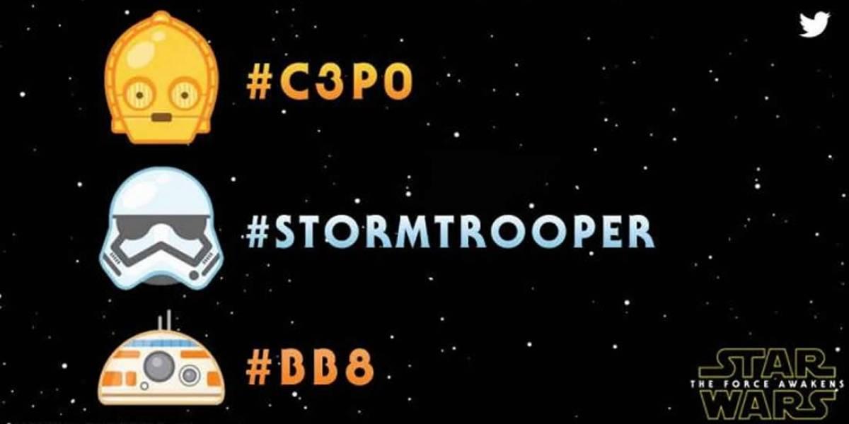Twitter estrenó emojis de Star Wars